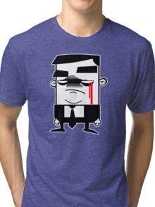 Hombre Grises Tri-blend T-Shirt