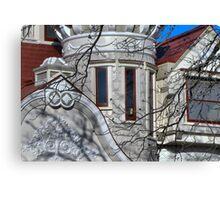 Wonderland Window Canvas Print