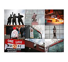 Manchester - One United Photographic Print