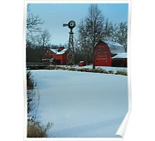 A peaceful winter view..:) Poster