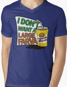 Large Farva! Mens V-Neck T-Shirt