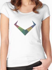Colourful Horns Women's Fitted Scoop T-Shirt