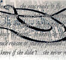 taking flight...with words~ by Brandi Burdick