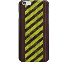 Hazard warning iPhone Case/Skin