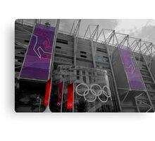 Olympic Toon Metal Print