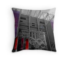 Olympic Toon Throw Pillow