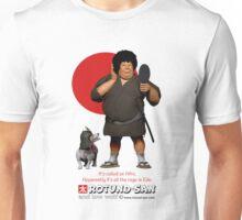 Samurai with an Afro Unisex T-Shirt