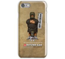 Ninjas for Hire iPhone Case/Skin