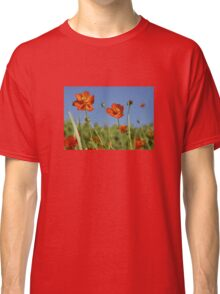 Red Cosmos Flower Classic T-Shirt