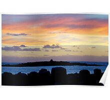 Sunset In Doolin Ireland Poster