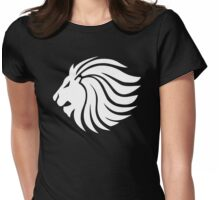 Lion - The King of the Jungle Womens Fitted T-Shirt