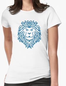 Tribal Lion Womens Fitted T-Shirt