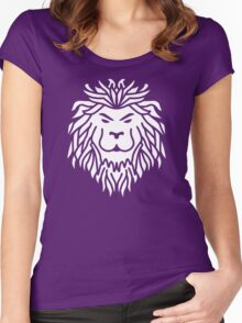 Tribal Lion Women's Fitted Scoop T-Shirt