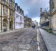Merton Street Oxford by Chris Day