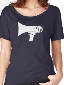 Megaphone Women's Relaxed Fit T-Shirt