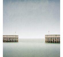 Greystones Harbour Photographic Print