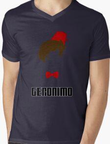Doctor Who? - Geronimo Mens V-Neck T-Shirt