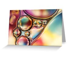 Bright & Bold Bubble Abstract Greeting Card