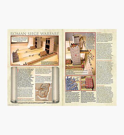 Roman Siege Warfare Photographic Print