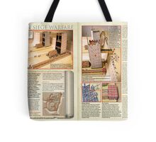 Roman Siege Warfare Tote Bag