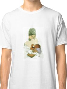 White Madonna Classic T-Shirt