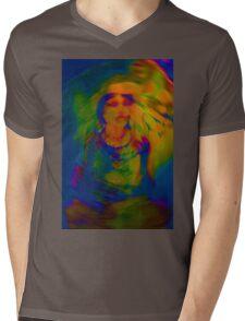 Wicca Madonna Mens V-Neck T-Shirt