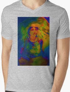 Wicca Madonna Mens V-Neck T-Shirt