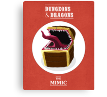 Mimic Canvas Print