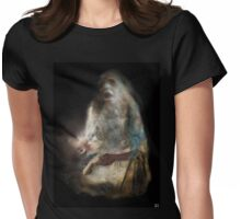 Black Madonna Womens Fitted T-Shirt