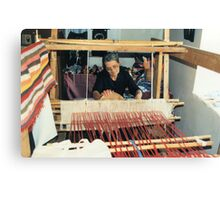 Penelope At Her Loom Canvas Print