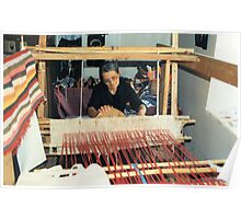 Penelope At Her Loom Poster