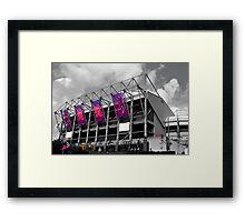 Olympic Toon Framed Print