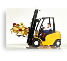 Fork lift and drugs Metal Print