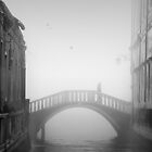 Venetian Bridge, Italy by Margaret Morrissey