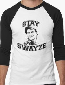 Stay Swayze! Men's Baseball ¾ T-Shirt