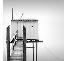 Traditional French Fishing Hut Photographic Print