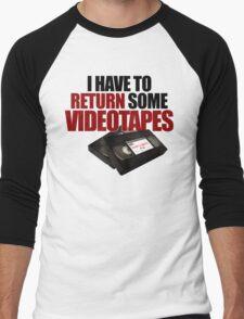 Videotapes! Men's Baseball ¾ T-Shirt