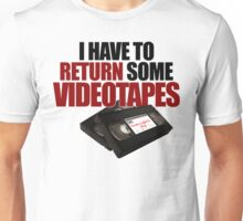 Videotapes! Unisex T-Shirt