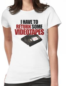 Videotapes! Womens Fitted T-Shirt