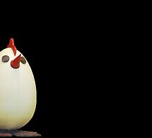 Happy Easter egg-chicken by Arie Koene