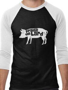 Praise The Lord Humor Men's Baseball ¾ T-Shirt