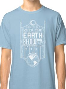 Mumford Typography (earth) Classic T-Shirt