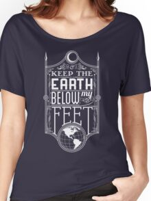 Mumford Typography (earth) Women's Relaxed Fit T-Shirt