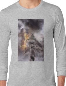 Napalm On Windmill Long Sleeve T-Shirt