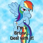 Brony...Deal with it! by BowserBasher