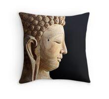 Peaceful Buddha Throw Pillow