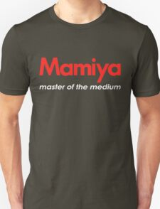 Mamiya Photography Logo T-Shirt