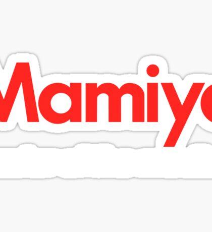 Mamiya Photography Logo Sticker