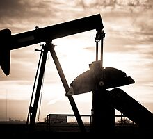 Oil Well Pump by Bo Insogna