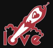 Love Rocket One Piece - Long Sleeve